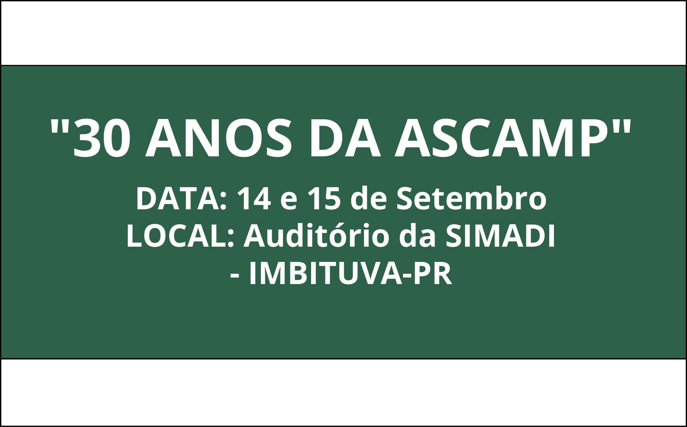 Evento Ascamp