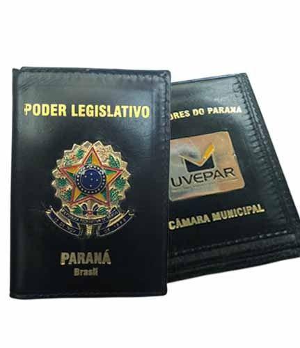 CARTEIRA PODER LEGISLATIVO(DE COURO FUNCIONAL)