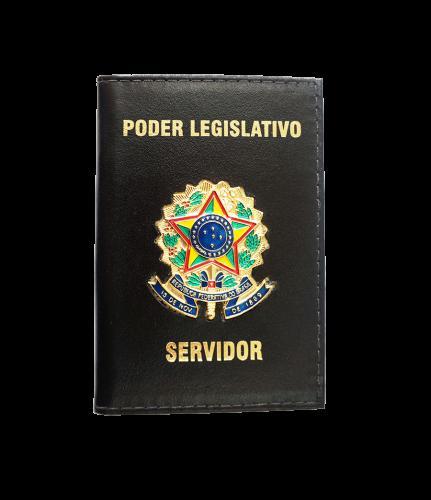 CARTEIRA DE COURO PARA SERVIDOR PÚBLICO (FUNCIONAL)