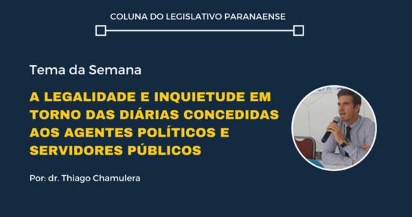 COLUNA DO LEGISLATIVO PARANAENSE